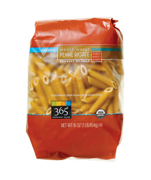 Whole Foods Whole Grain Pasta